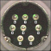 8 pin mini din wiring diagram sb projects serial connectors  sb projects serial connectors