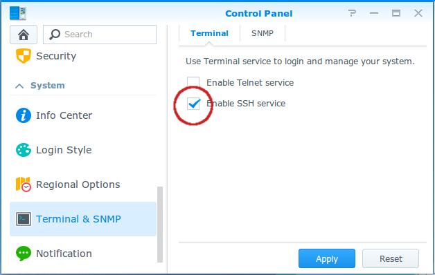 SB-Projects - Synology Git Server