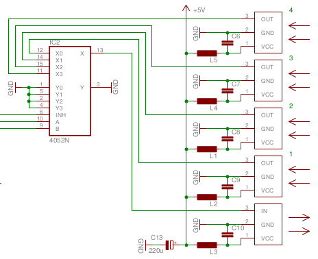 sb projects projects ir toslink input selector 3 phase changeover switch wiring diagram automatic changeover switch circuit