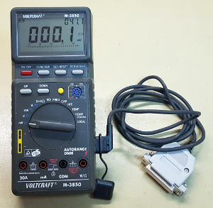 Voltkraft M-3850 USB interface